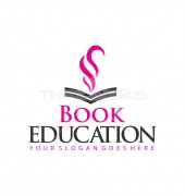 S Letter Book Abstract Study Logo Template