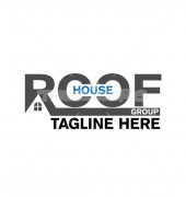 Roof Repair Property solutions Logo Template