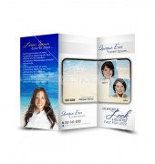 Beauty Parlour Trifold Template