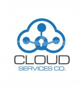 Cloud Data Hosting Logo Template