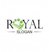 Royal People Non profit Logo Template