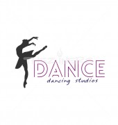 Dancing Girl Abstract Entertainment Logo Template