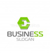 E Company  Elegant Logo Template