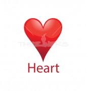 Four Heart Healthcare logo Template