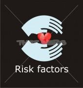 Risk Factors Premade Health Care Logo Design