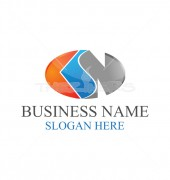 CSN Business Abstract Logo Template