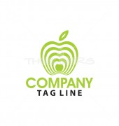Apple Tech Logo Template