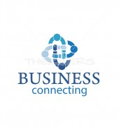 Business People Logo Premade Community Logo Design