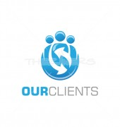 Our Clients Non Profit Networking Logo Template
