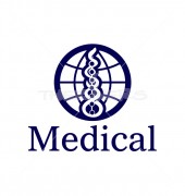Pharmacy Snake Medical Abstract Solution Logo Template