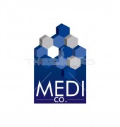Attractive Medical Group  Health Care Logo Template