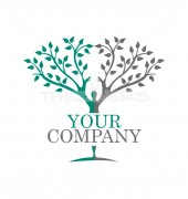 People Tree Abstract Community Logo Template