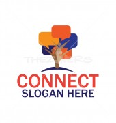 Cloud Security Educational Logo Template