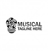 Musical Light Premade Creative Product Logo Symbol