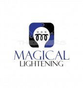 Magical Lightening Entertainment Logo Template