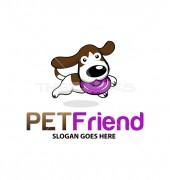 Dog Best Friend Logo Template