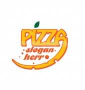 Pizza Store Food Cafe Shop Logo Template