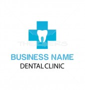 Dental Clinic Elegant Healthcare Solutions Logo Design