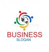 Business Talk NGO logo Template