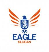Eagle Academy Learning Logo Template