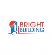 Bright Building Abstract Logo Outline