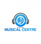Music Centre Premade Musical Logo Design