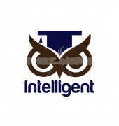 Intelligent Owl Eyes Education Logo Template