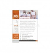Family Healthcare Flyer Template