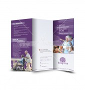 Old Age Healthcare Trifold Template