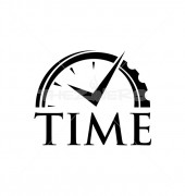 Time Now Elegant Premade Logo Template