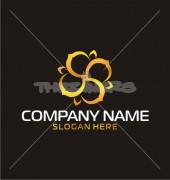 Flashing Floral Logo Template