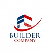 Home Builder Designers Premade Housing Logo Vector