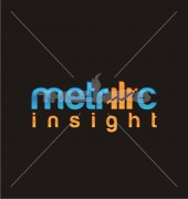 Bar Graph Metric Logo Template
