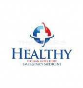 Healthy Plus Medical logo Template
