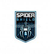 Spider Shield Premade Logo Design