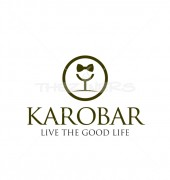 Karobar Food Restaurant Logo Template