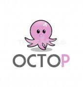 Kraken Octopus Logo Template