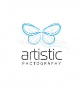 Creative Butterfly Logo Template for Studio