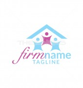 Home Cleaning Elegant Logo Template