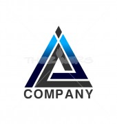 Abstract Triangle Logo Template