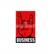 U Letter Finger Logo Template