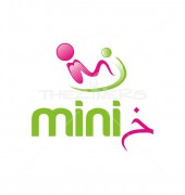 Baby Carriage Child Care Logo Template