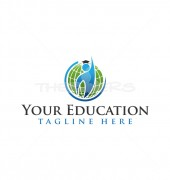 Global Education  Abstract Community Logo Template