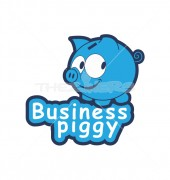 Piggy Business Logo Template