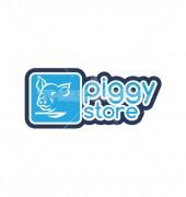 Piggy Store Logo Template