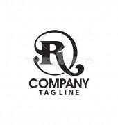 R Letter Flora Logo Template