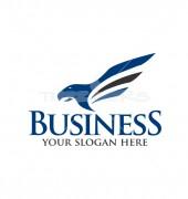 Eagle Soaring Logo Template