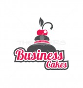 Heaven Cake Food Restaurant Logo Template