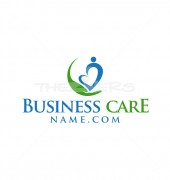 Medical Care Abstract Solution Logo Template