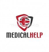Medical Help Affordable Solution Logo Template
